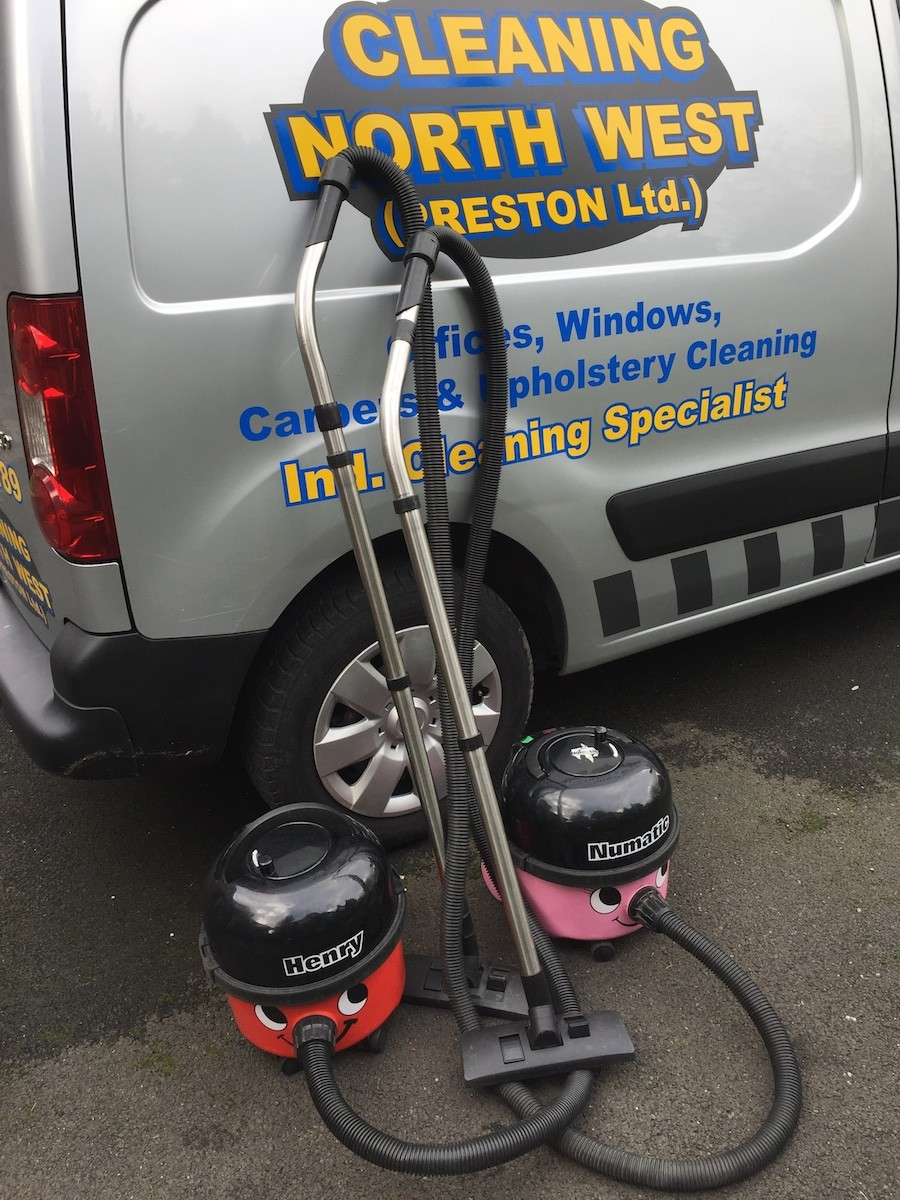 our van and vacuum cleaners