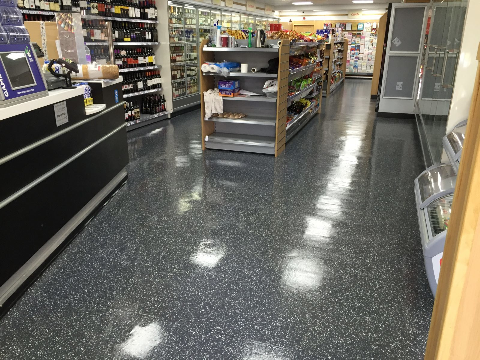 commercial clean in Preston